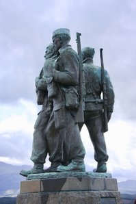 Commando Memorial at Spean Bridge on the site of their wartime training grounds