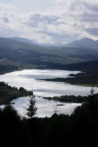 Loch Garry, a stunning sight on the route from Loch Ness to the West Coast and Kyle of Lochalsh