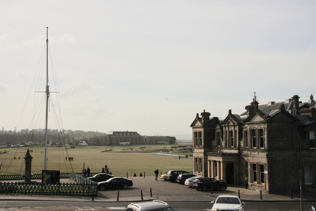 The R & A and Old Course in St Andrews